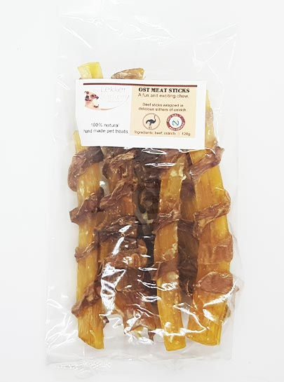 Ostrich Meat Sticks 120g