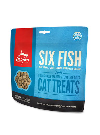 Orijen Six Fish Cat Freeze-Dried Treats