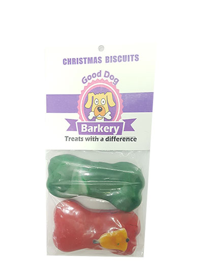 Good Dog Barkery Fancy Christmas Biscuits