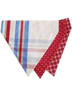 Nautical Dog Bandana Set