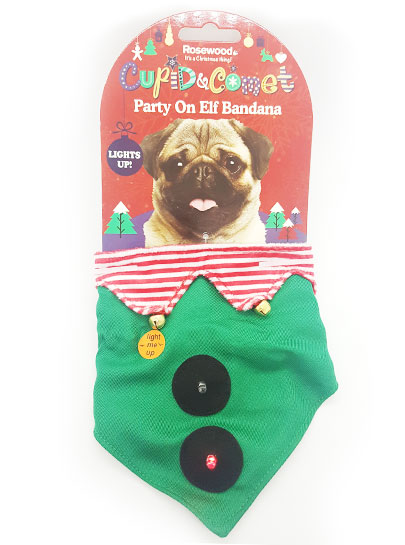 Party on Elf Bandanna