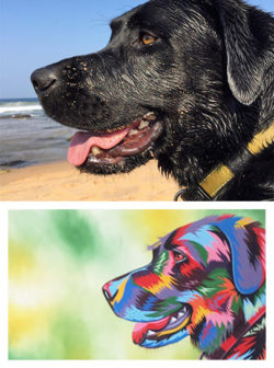 Pawsonalised Painting