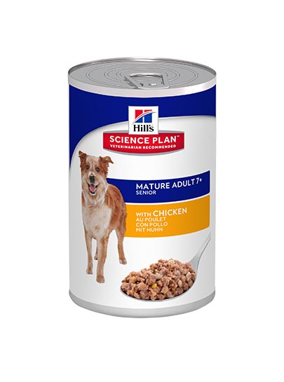 Hills Canine Mature Adult 7+ with Chicken
