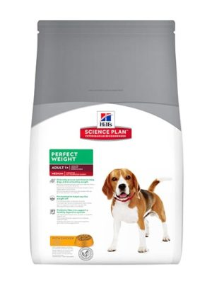 Hill's Canine Adult Perfect Weight Medium Breed with Chicken