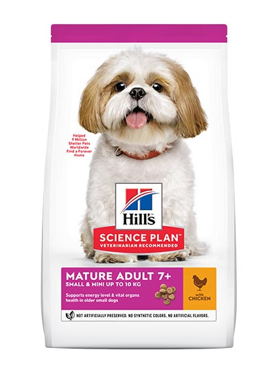 Hills Canine Mature Adult 7+ Active Longevity Small & Mini Breed with Chicken