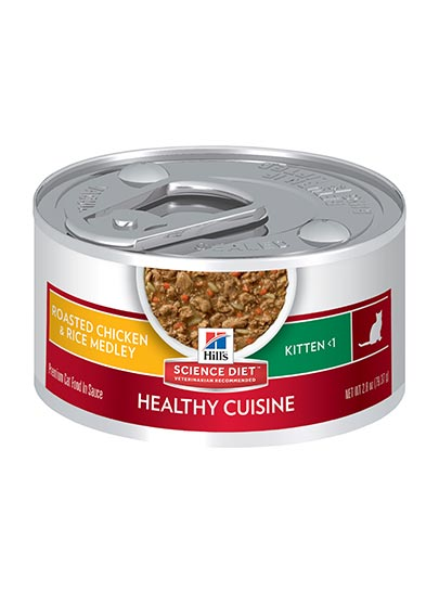 Hills Healthy Development Kitten Chicken and Rice Stew