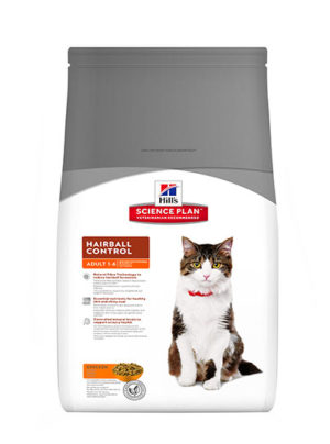 Hills Feline for Adults Hairball Indoor Control Chicken Flavour