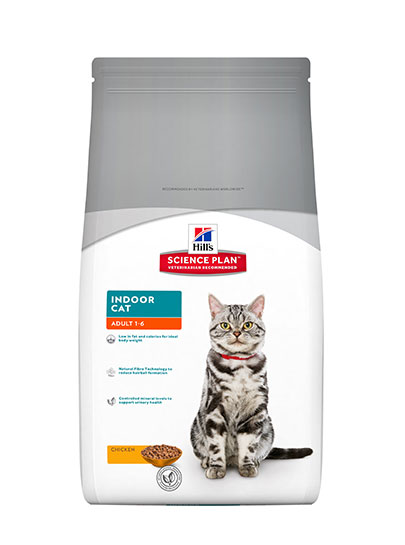 Hills Feline Adult Indoor Cat Range Chicken Flavour