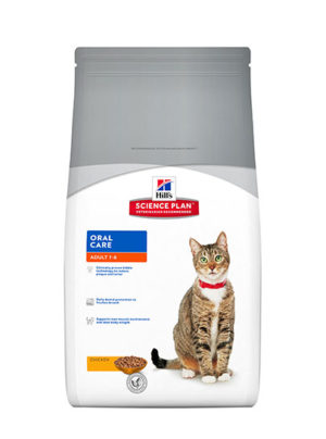 Hills Feline Oral Care for Adults Chicken Flavour