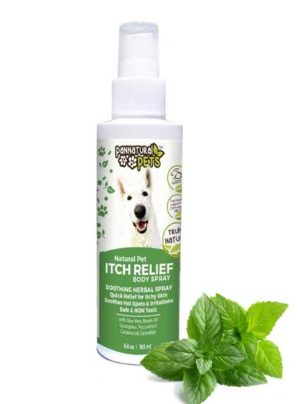 All Natural Pet Itch Relief Spray