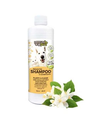 All Natural Pet Shampoo Furry Pet Wash-Fluffy and Clean Jasmine