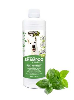 All Natural Pet Shampoo Furry Pet Wash-Itch Relief Dog Wash Herbal
