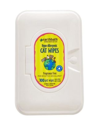 Hypo-Allergenic Cat Wipes -Fragrance Free