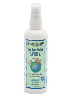 Earthbath Hot Spot Relief Spritz Tea Tree Oil & Aloe Vera