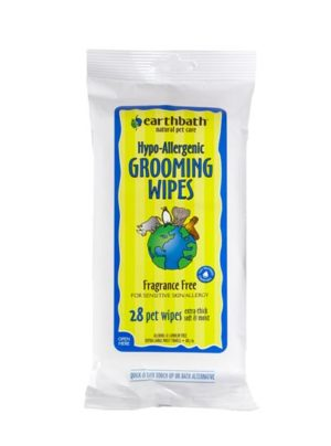 Earthbath Hypo Allergenic Grooming Wipes Fragrance Free