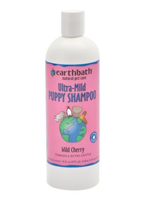 Earthbath Ultra Mild Puppy Shampoo- Wild Cherry
