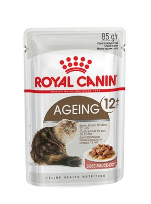 Royal Canin Feline Health Nutrition Ageing 12+ in Gravy