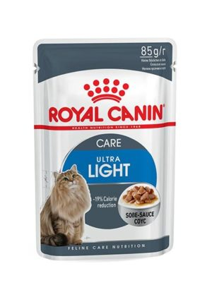 Royal Canin Feline Health Nutrition Ultra Light in Gravy