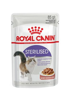 Royal Canin Feline Sterilized Gravy 12+ Months