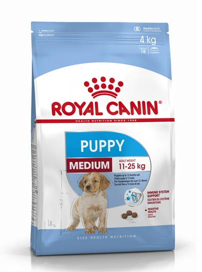 Royal Canin Medium Puppy Food 11-25kgs