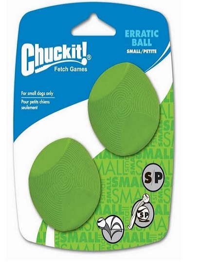 Chuckit Launcher Compatible Erratic Balls 2 Pack