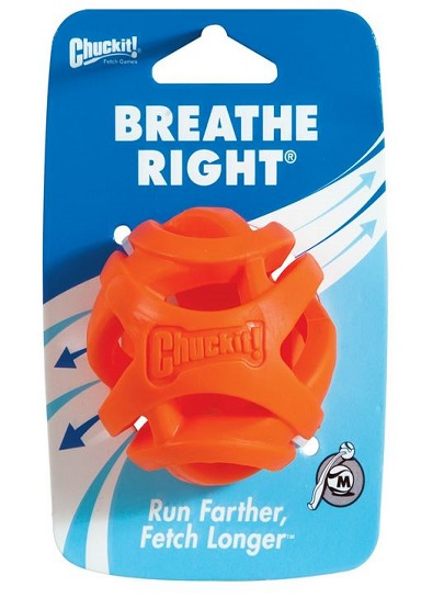 Chuckit Launcher Compatible Breathe Right Balls 1 Pack