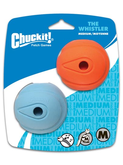 Chuckit Launcher Compatible Whistler Balls 2 Pack