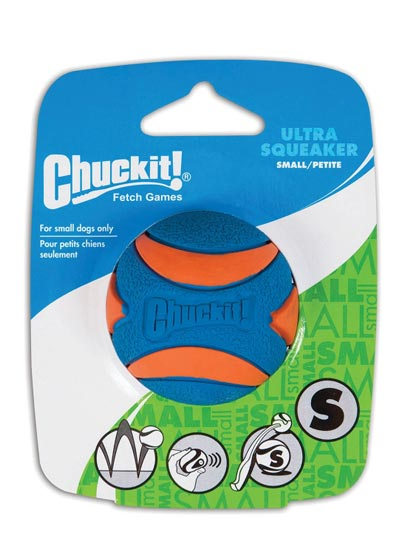 Chuckit Launcher Compatible Ultra Squeaker Ball 1 Pack