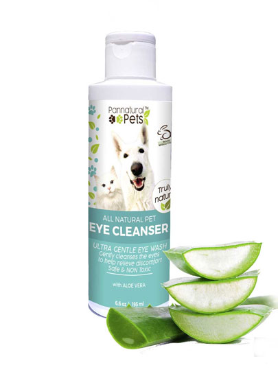 All Natural Eye Cleaner
