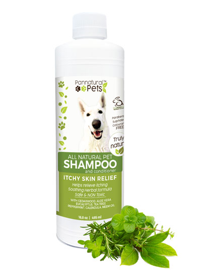 All Natural Itch Relief Herbal Pet Shampoo