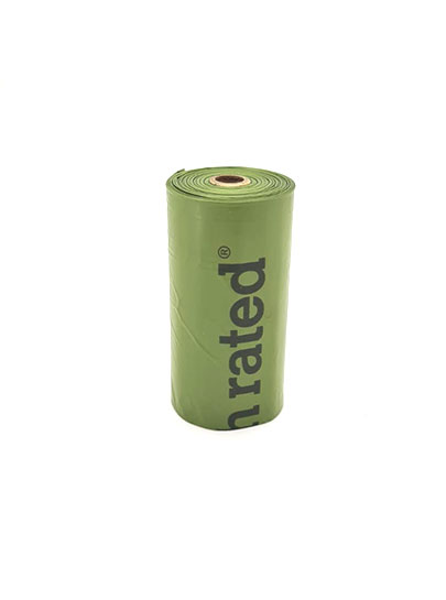 Earth Rated Degradable poop bags single roll