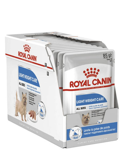 Royal Canin Lightweight Care Dog Wet Pouches 12 x 85g