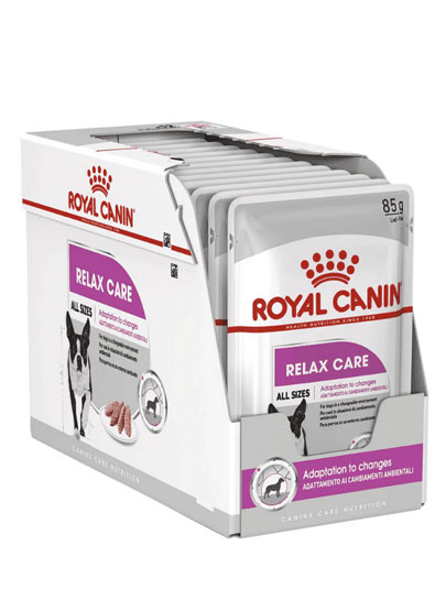 Royal Canin Relax Care Wet Food Pouches 12 x 85g