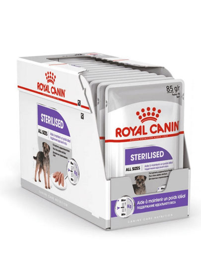 Royal Canin Sterilised Care Wet Food Pouches 12 x 85g