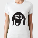 pawfect-shirts Daxie Mom White