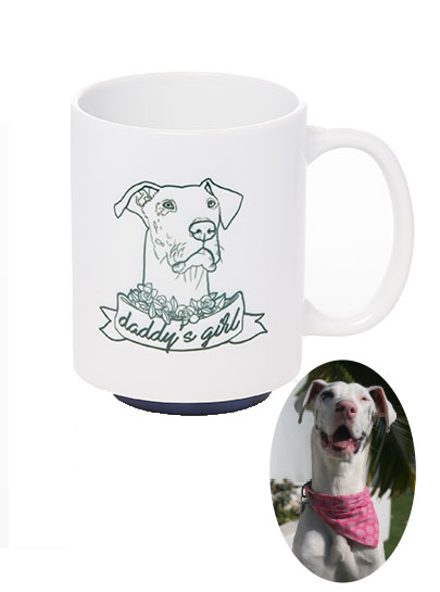 Pawsonalised Mug