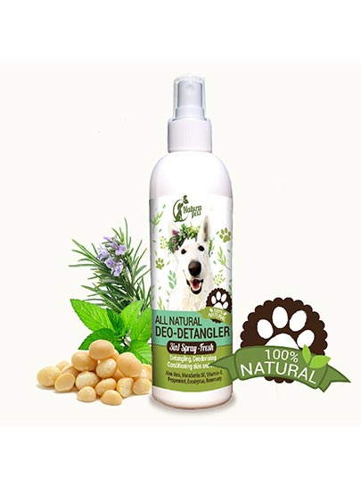 All Natural Deo-Detangler Pet Fresh Spray