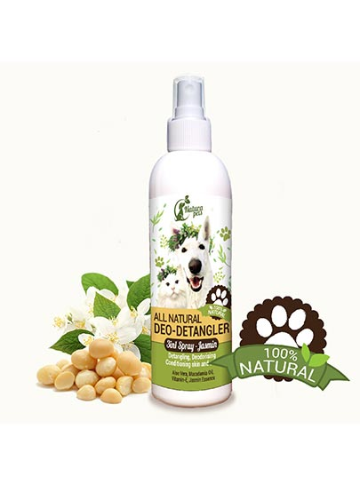 All Natural Deo-Detangler Pet Spray Jasmin