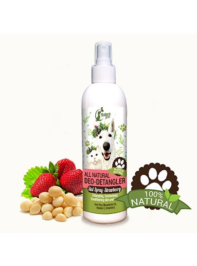 All Natural Deo-Detangler Pet Spray
