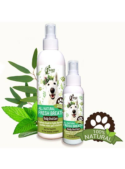 All Natural Pet Breath Freshner - Oral Care