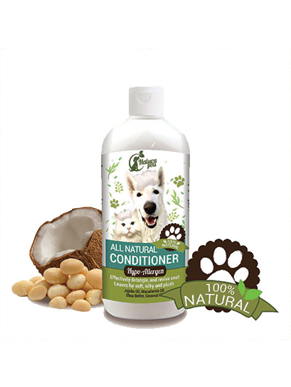 All Natural Hypo-Allergen Pet Conditioner