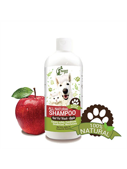 All Natural 4 in 1 Pet Shampoo Apple