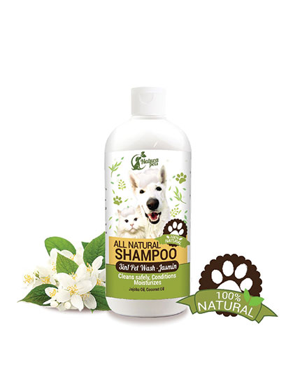 All Natural 3 in 1 Pet Conditioner Shampoo Jasmin