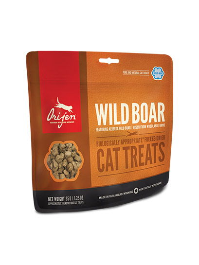 Orijen Wild Boar Freeze-Dried Cat Treats