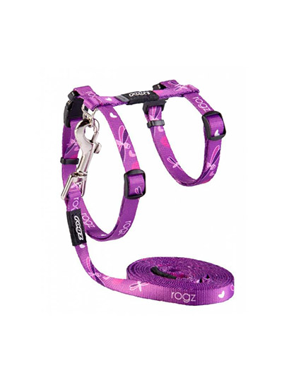 rogz-catz-harness-kiddycat-purple